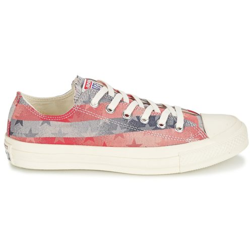 Converse CT B S JAQUARD women's Shoes (Trainers) in Red