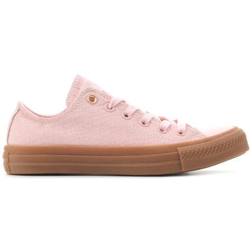 Converse Ctas OX 157297C women's Shoes (Trainers) in Pink