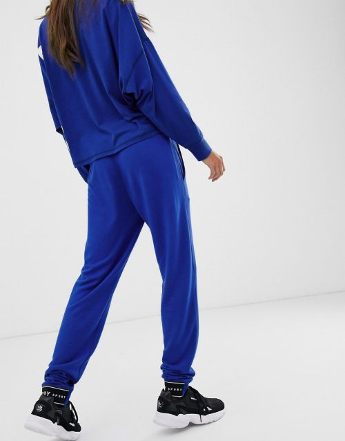 DKNY slim fit jogger with logo tape co-ord
