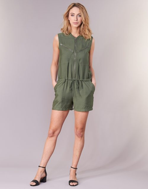 Deeluxe DENISE women's Jumpsuit in Green