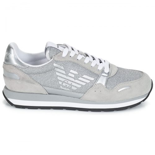 Emporio Armani X3X058-XL617 women's Shoes (Trainers) in Grey