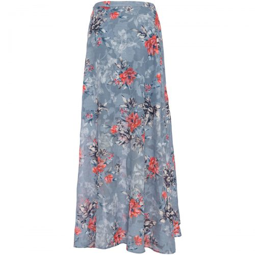 French Connection Floral long skirt women's Skirt in Blue