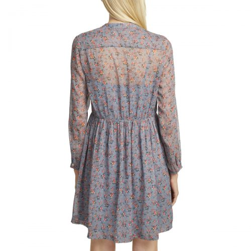 French Connection Floral print shirt dress women's Dress in Blue