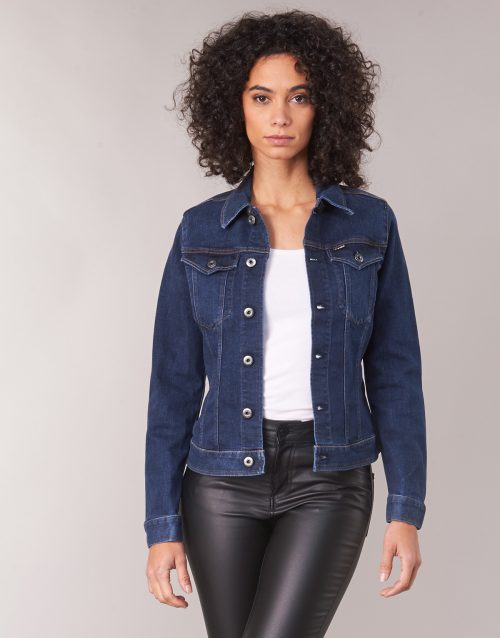 G-Star Raw 3302 SLIM JACKET women's Denim jacket in Blue