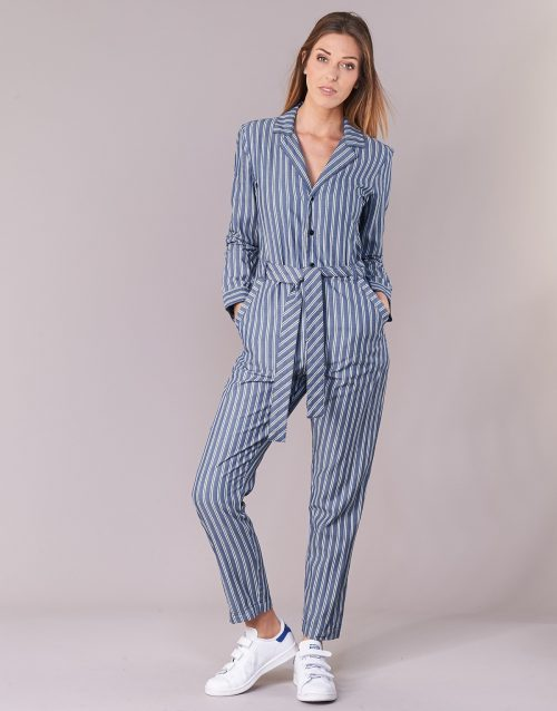 G-Star Raw DELINE JUMPSUIT WMN L/S women's Jumpsuit in Blue