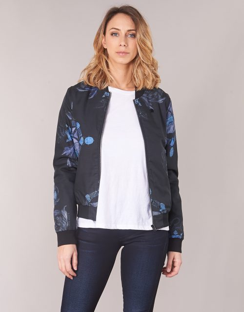 G-Star Raw DELINE SLIM BOMBER women's Jacket in Black