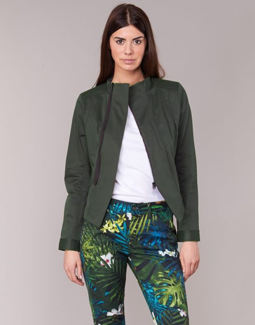 G-Star Raw NOA SLIM BLAZER WMN women's Jacket in Green