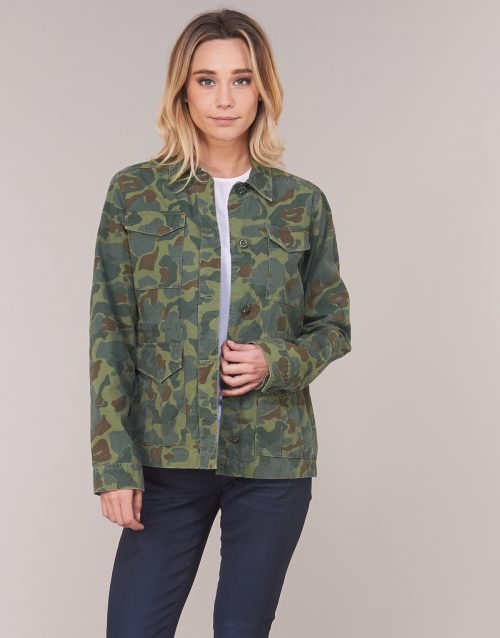 G-Star Raw ROVIC AO FIELD OVERSHIRT women's Jacket in Green