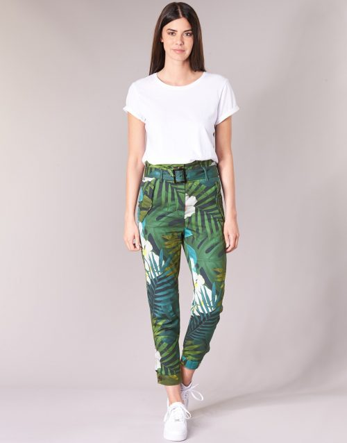 G-Star Raw ROVIC HIGH PAPERBAG PANT women's Trousers in Multicolour