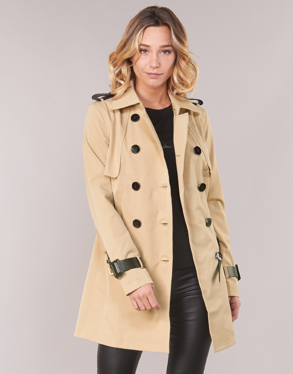 new high quality new selection classic fit Guess ROCCA women's Trench Coat in Beige