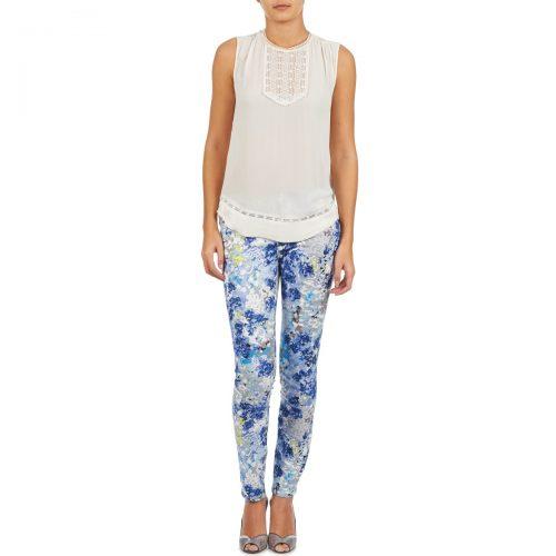 Manoukian 613357 women's Trousers in Blue