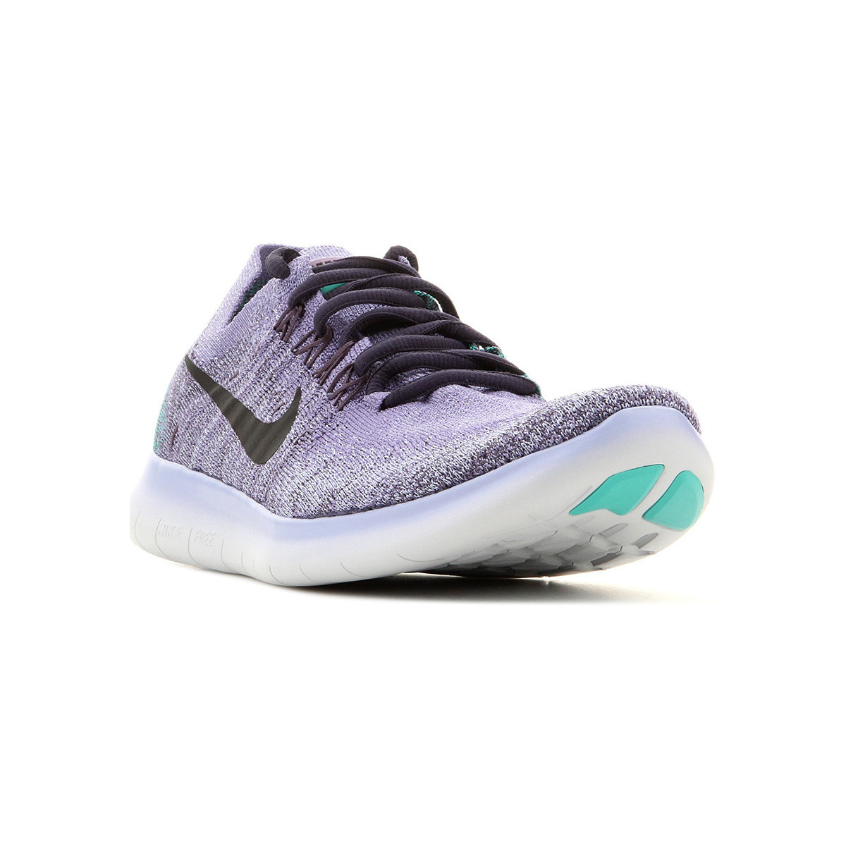 uk availability 8e1a3 fbec6 Nike Wmns Free RN Flyknit 2017 880844 501 women's Running Trainers in Purple