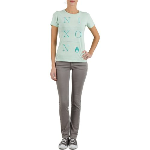 Nixon WINDSOR TEE W women's T shirt in Green