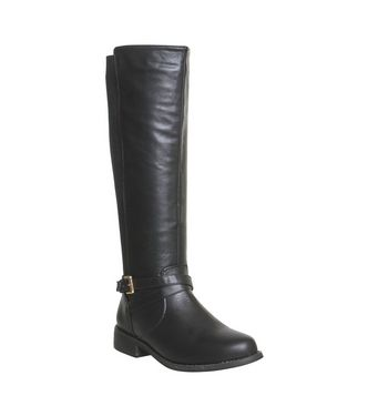 Office Emilia 2 Riding Knee Boots BLACK