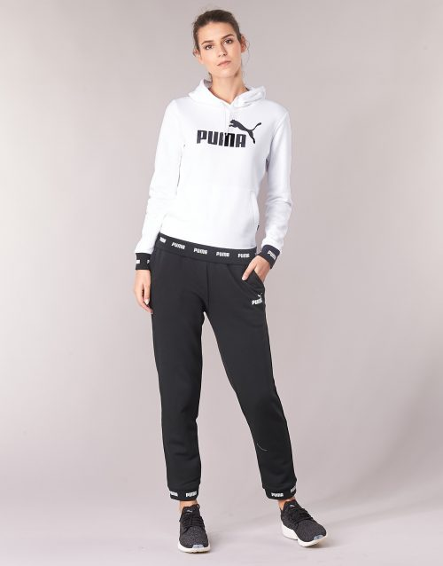 Puma AMPLIF SWEAT PANT women's Sportswear in Black