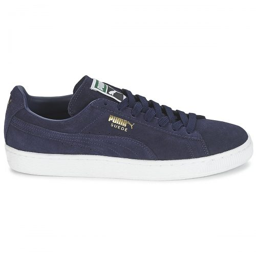 Puma SUEDE CLASSIC + women's Shoes (Trainers) in Blue