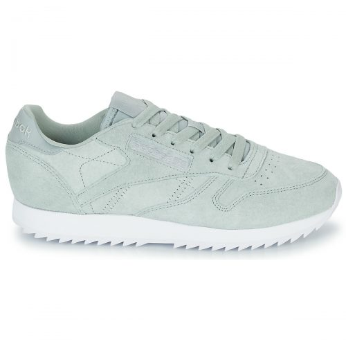 Reebok Classic CL LTHR RIPPLE women's Shoes (Trainers) in Green