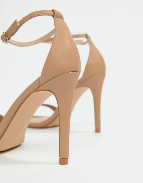 Steve Madden Stecy Blush Barely There Heeled Sandals
