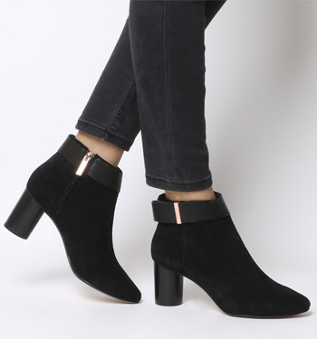 Ted Baker Mharia Ankle Boot BLACK