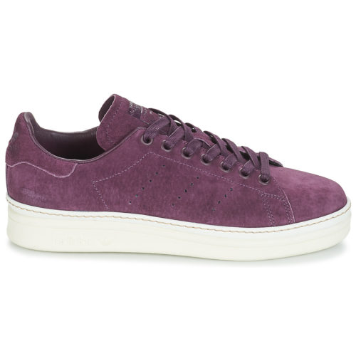 adidas STAN SMITH NEW BOLD W women's Shoes (Trainers) in Purple