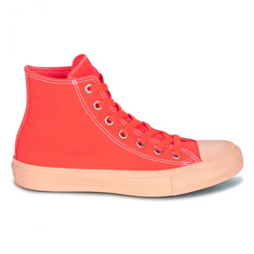 Converse CHUCK TAYLOR ALL STAR II PASTEL MIDSOLES HI women's Shoes (High-top Trainers) in Orange