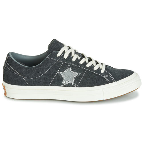 Converse ONE STAR SUNBAKED OX women's Shoes (Trainers) in Black