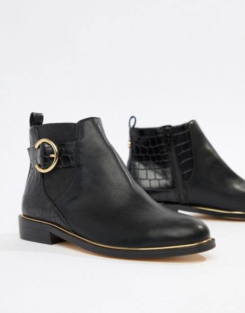 Office Alexander ankle buckle boots