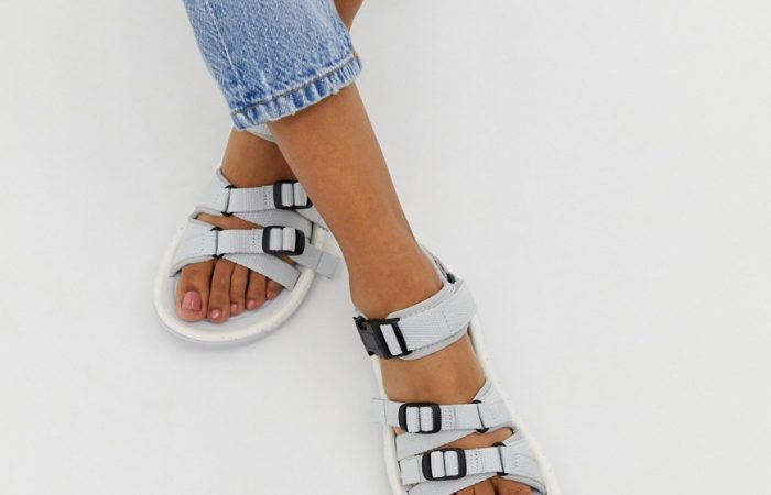 Teva Hurricane x LX ALP sandals in grey