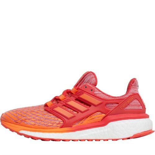 adidas Womens Energy Boost Neutral Running Shoes Hi-Res Orange/Hi-Res Orange/Hi-Res Red