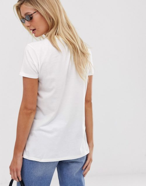 ASOS DESIGN Maternity t-shirt with arrow heart motif