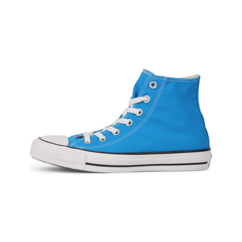 Converse All Star Hi Electic Blue women's Shoes (High-top Trainers) in Blue