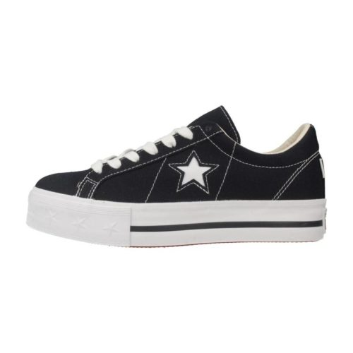 Converse ONE STAR PLATFORM OX women's Shoes (Trainers) in Blue