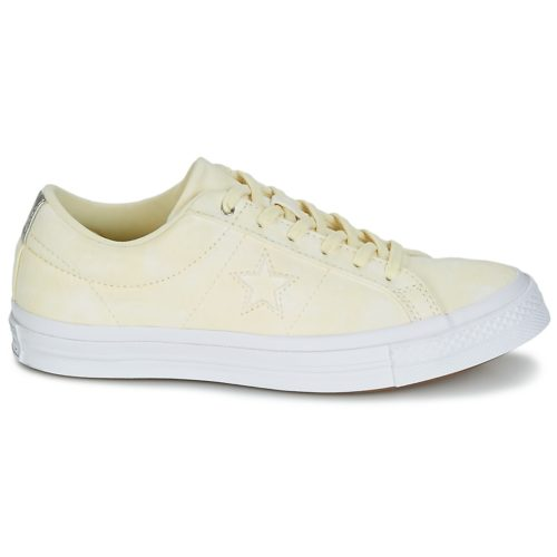Converse ONE STAR women's Shoes (Trainers) in Yellow