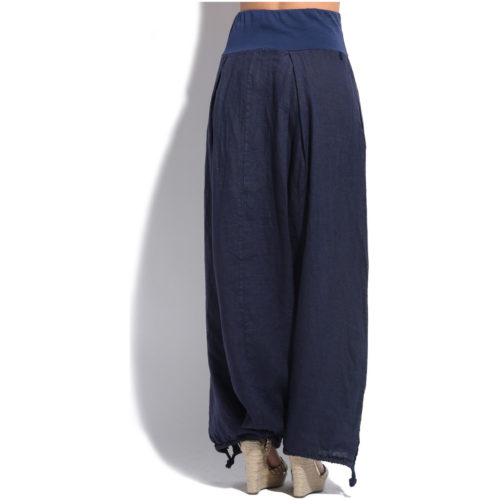 Lin Nature Trousers women's Trousers in Blue