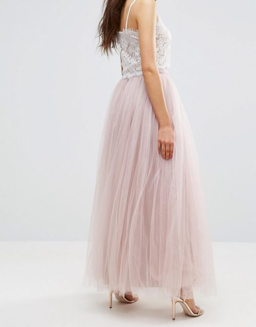 Little Mistress Maxi Tulle Prom Skirt