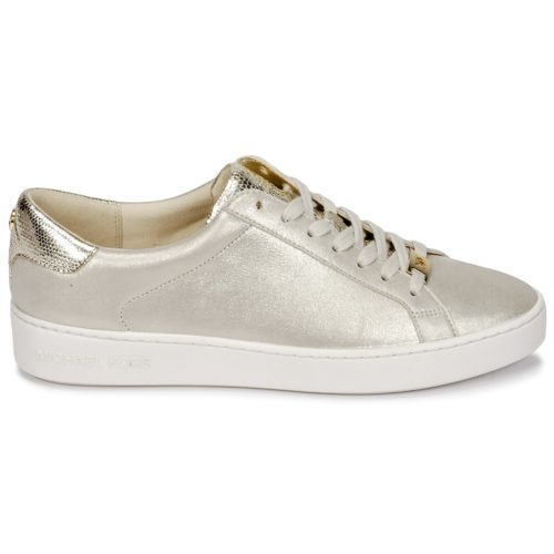 MICHAEL Michael Kors IRVING LACE UP women's Shoes (Trainers) in Beige