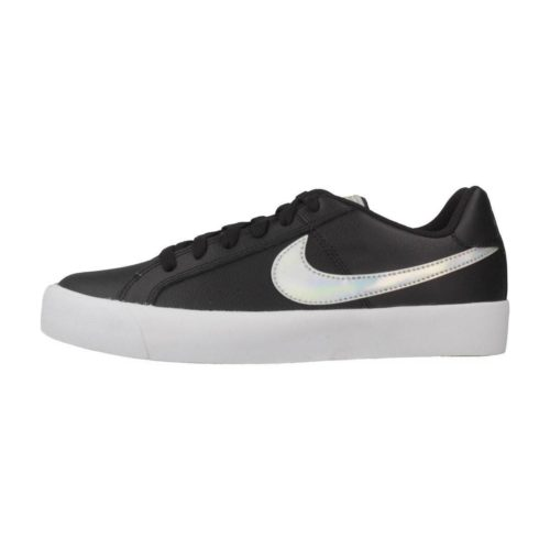 Nike COURT ROYALE AC women's Shoes (Trainers) in Black