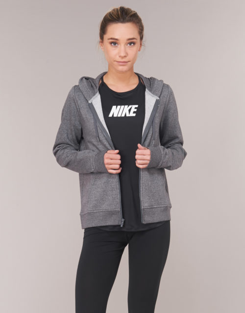 Nike WOMEN'S NIKE SPORTSWEAR HOODIE women's Sweatshirt in Grey