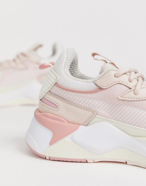 Puma Rs-X Tech trainers in pink