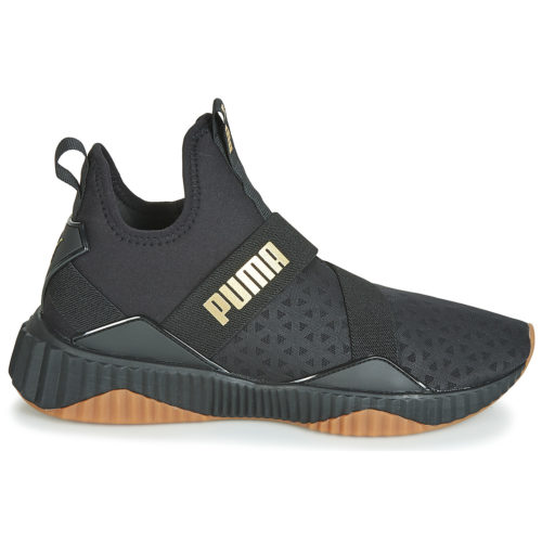 Puma WNS DEFY MID SPARKLE.BLK women's Shoes (High-top Trainers) in Black