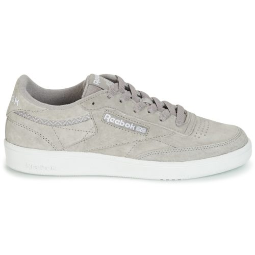 Reebok Classic CLUB C 85 TRIM NBK women's Shoes (Trainers) in Grey