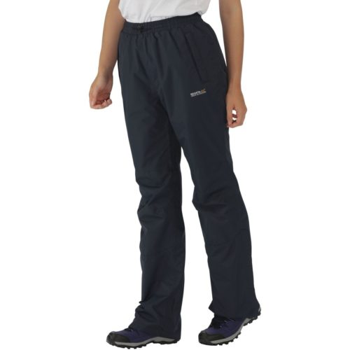Regatta WomensLadies Amelie OT III Waterproof Trousers - Short women's Sportswear in Grey