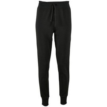 Sols WomensLadies Jake Slim Fit Jogging Bottoms women's Sportswear in Black