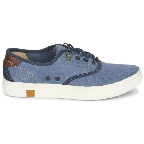 Timberland AMHERST OXFORD women's Shoes (Trainers) in Blue