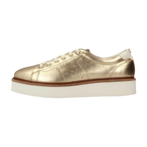 Tommy Hilfiger FW0FW02501 women's Shoes (Trainers) in Gold