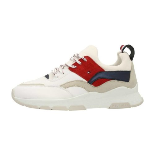 Tommy Hilfiger FW0FW04029 RWB women's Shoes (Trainers) in White