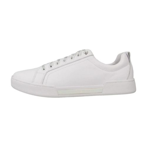Tommy Hilfiger IRIDESCENT FASHION SNEAK women's Shoes (Trainers) in White