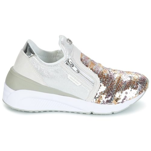 Versace Jeans ANITA VRBSB1 women's Shoes (Trainers) in Gold