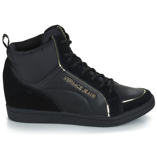 Versace Jeans CARUA women's Shoes (High-top Trainers) in Black