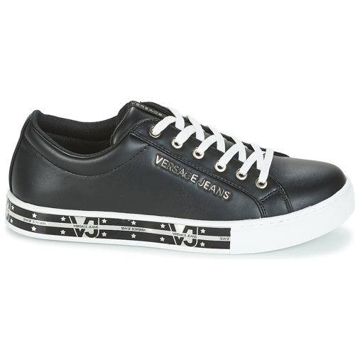 Versace Jeans E0VRBSG5 women's Shoes (Trainers) in Black